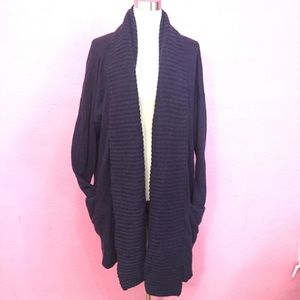 J.Crew sweater cardigan shawl collar with pockets